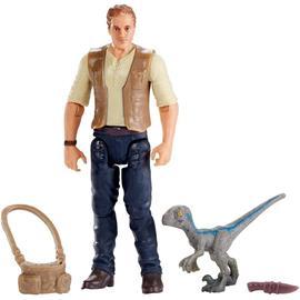 Jurassic World - Basic Figure - Owen and Baby Blue (FMM01)