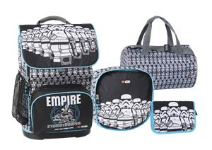 LEGO - Optimo School Bag Set (4 pcs.) - Star Wars - Stormtrooper (20097-1829)