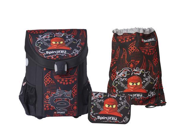 LEGO - EASY School Bag Set (3 pcs.) - Ninjago - Team Ninja (20015-1809)
