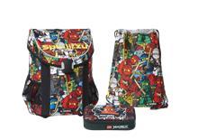 LEGO - EASY School Bag Set (3 pcs.) - Ninjago - Comic (20015-1806)