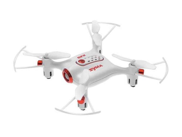 Quad-kopteri SYMA X 20 2.4 G 4-kanavainen gyro (valkoinen) , Toys