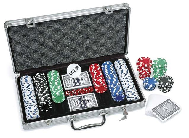 Poker Chips in Box (31805)