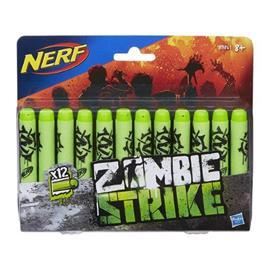 Nerf Zombie Strike 12PK Deco Dart Refill
