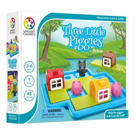 Smart Games - Three Little Piggies, NEW PACKING (SG023)