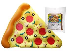 Uimapatja Pizzapala 180 x 150 cm Ota rennosti Pizzan päällä!