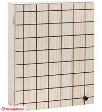 Kotoilu Square 24x30x8 cm puulaatikko