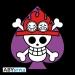 One Piece Ace Spade T-paita koko M
