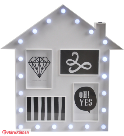 Kotoilu House 46x44x4,5 cm kuvakehys
