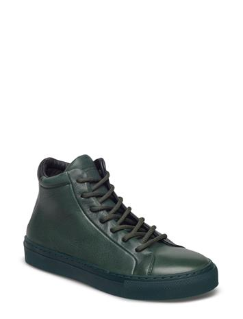 Royal RepubliQ Elpique Tri Low Cut DARK GREEN W/BLACK HEEL