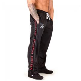 Gorilla Wear Functional mesh housut, musta/punainen