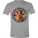 Crash Bandicoot Jump Wump Crash harmaa T-paita koko M