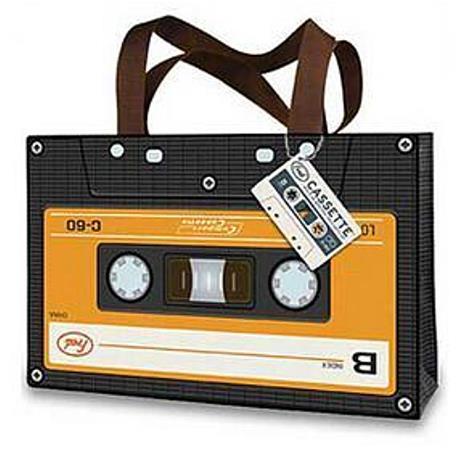 Bag: Cassette Tape Retro Look