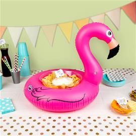 Flamingo Puhallettava Tarjoilurengas