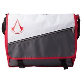 Assassin's Creed Crest lähettilaukku (musta/valkoinen)
