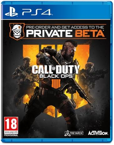 Call Of Duty: Black Ops 4, PS4 -peli