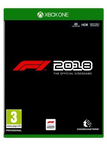 F1 2018, Xbox One -peli