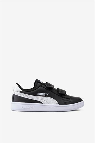 Puma Smash V2 L V Sneaker, Black/White