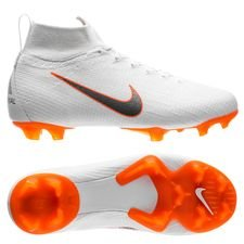 reputable site 9937f 846f7 Nike Mercurial Superfly 6 Elite FG Just Do It - Valkoinen Oranssi Lapset