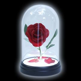Kaunotar ja Hirviö Enchanted Rose Lamppu Standard