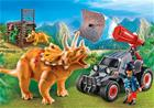 Playmobil The Explorers 9434, Enemy Quad with Triceratops
