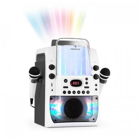 Kara Liquida BT Karaoke-Anlage weiäŸ/grau - karaokelaitteisto