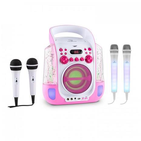 Kara Liquida pink + Dazzl Mic Set - karaokesetti