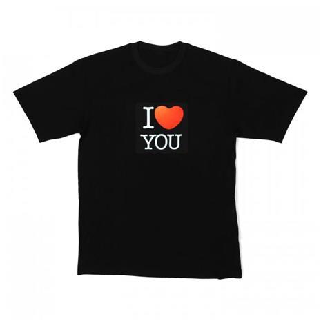 I LOVE YOU - LED-T-paita
