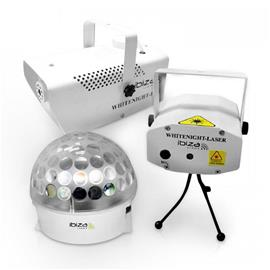 White Night - LED-valotehostesetti
