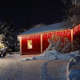 Dreamhouse Snow - jääpuikkovalosarja