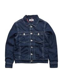 Tommy Hilfiger D Thkb Denim Trucker Jacket Ndpu NEEDLE PUNCH