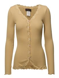 Rosemunde Silk Cardigan Regular Ls W/Rev Vintage Lace COCOON