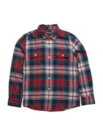 Tommy Hilfiger Ame Twill Multicolor Chk Shirt L/S PACIFIC