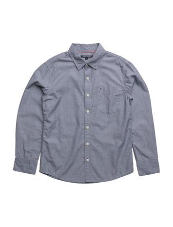 Tommy Hilfiger Ame Dg Thdm Basic Solid Shirt L/S BLACK IRIS