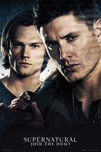 Supernatural Join The Hunt - Brothers Juliste Standard