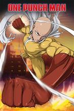 One Punch Man Saitama Juliste standard