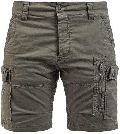 Brandit Kite Short Slim Fit Shortsit oliivi