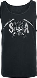 Sons Of Anarchy Logo Tank-toppi musta
