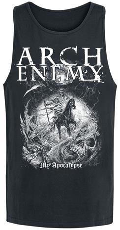 Arch Enemy My Apocalypse Tank-toppi musta