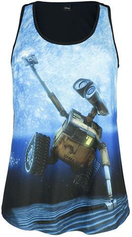 Wall-E Wall-E In Space Naisten toppi monivärinen