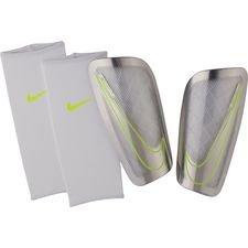 Nike Säärisuojat Mercurial Lite Just Do It - Valkoinen/Neon