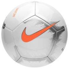 Nike Jalkapallo Pitch Just Do It - Valkoinen/Oranssi