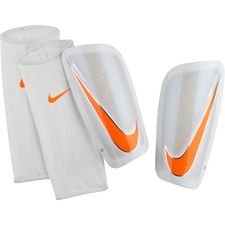 Nike Säärisuojat Mercurial Lite Just Do It - Valkoinen/Oranssi