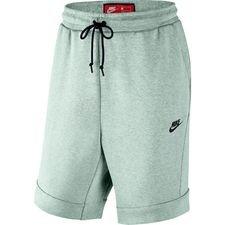 Nike Shortsit Tech Fleece - Turkoosi/Musta