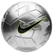 Nike Jalkapallo Strike Just Do It - Hopea/Musta
