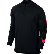 Nike Harjoituspaita Dry Squad Drill Top - Musta/Punainen