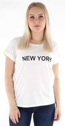 Vila T-paita Dreamers pure valkoinen