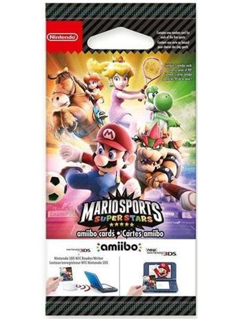 Nintendo Mario Sports Superstars amiibo cards (5pcs) EUR - Peliohjaimen lisäosat -
