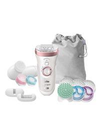 Braun Silk-épil 9 SkinSpa SensoSmart 9/970, epilaattori-ihonhoitolaite + 13 lisäosaa