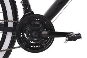 "27.5"" 650B Mountain Bike Hardtail ""Larrikin"" Black 21 Speed Aluminium Frame 240M"
