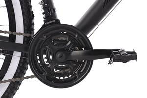 "29"" Mountain Bike Hardtail ""Larrikin"" Black 21 Speed Aluminium Frame 241M"